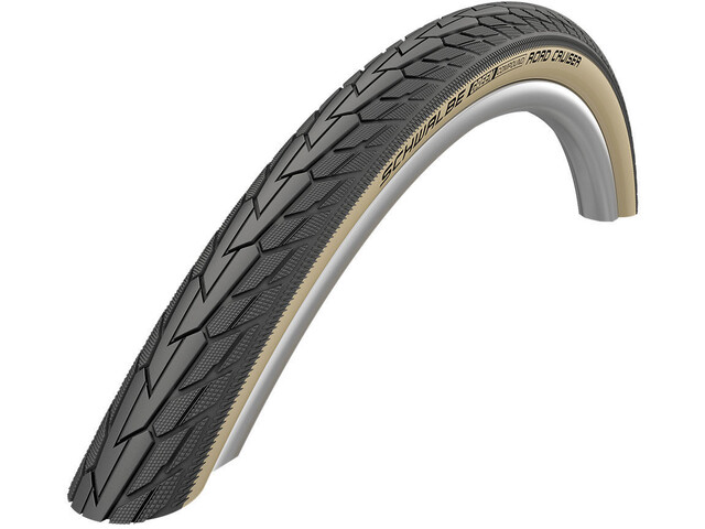 "SCHWALBE Road Cruiser Wired-on Tire 28"" K-Guard Active gumwall"